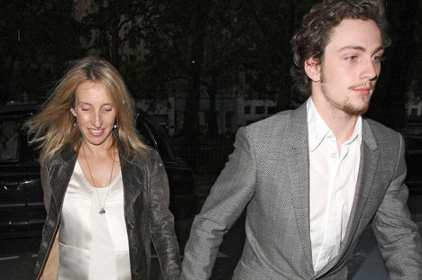Sam Taylor Wood and Aaron Taylor Johnson