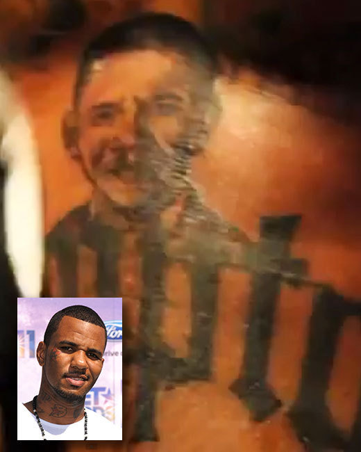 The Game, Obama tattoo