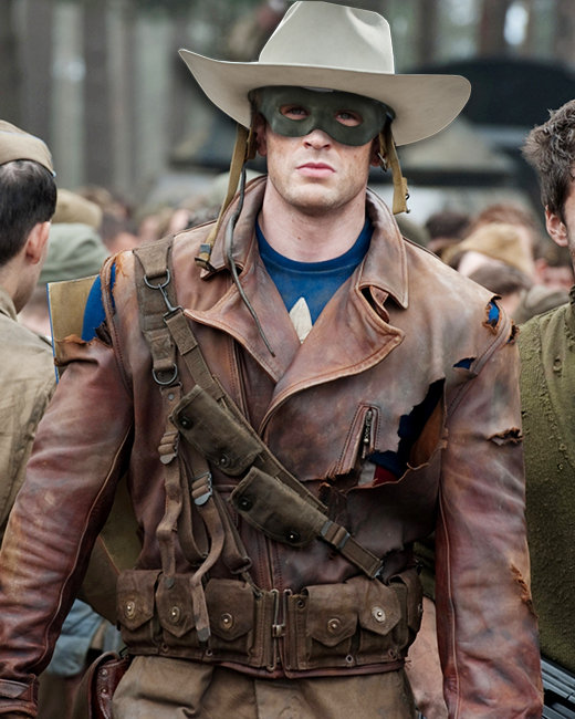 Chris Evans, Captain America, The Lone Ranger