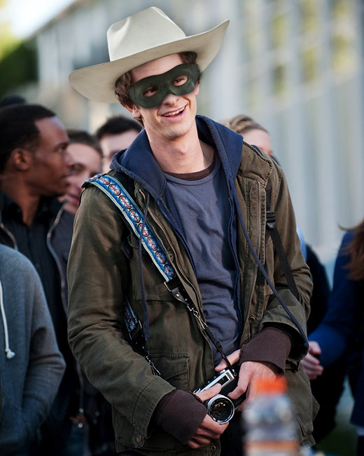 Andrew Garfield, The Amazing Spiderman, The Lone Ranger