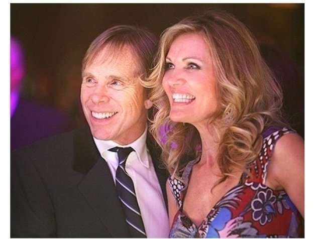 Tommy Hilfiger and Lynn Palmer