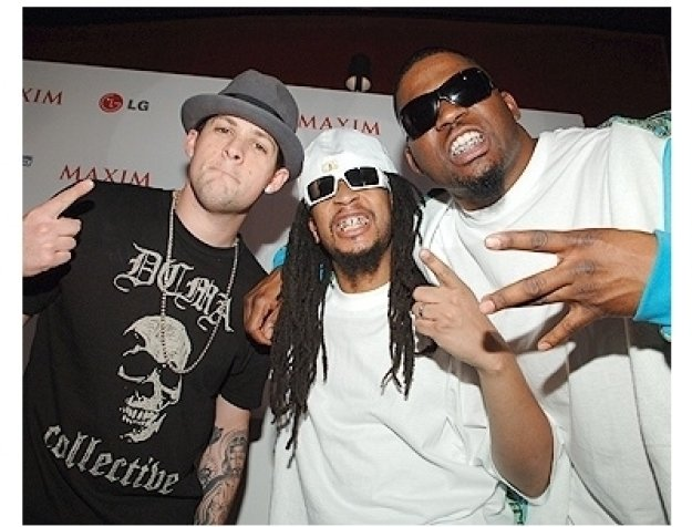 Maxim 100th Issue Party Photos:   Joel Madden, Lil Jon and David Banner