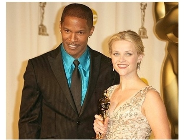78th Annual Academy Awards Press Room Photos:  Jamie Foxx and Reese Witherspoon