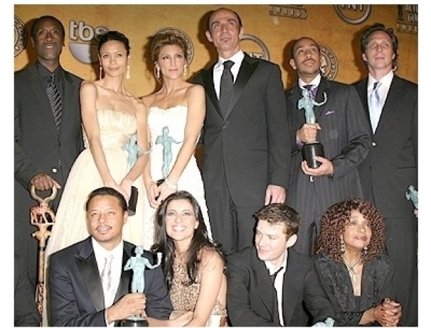 2006 SAG Awards Press Room: Cast of Crash