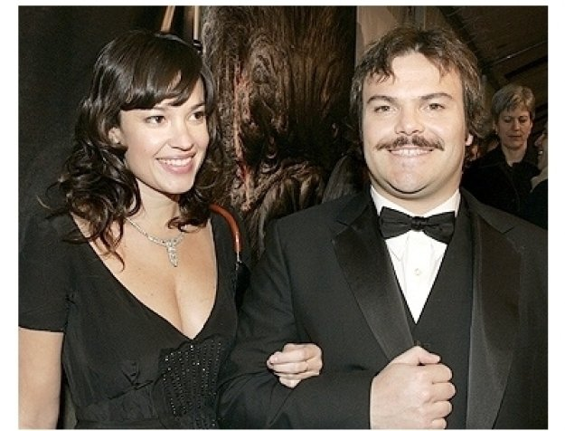 King Kong Premiere Photos: Jack Black and wife