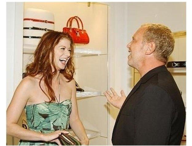 "Heidi Klum and Michael Kors Host ""Project: Runway"" Party Photos:  Debra Messing and Michael Kors"