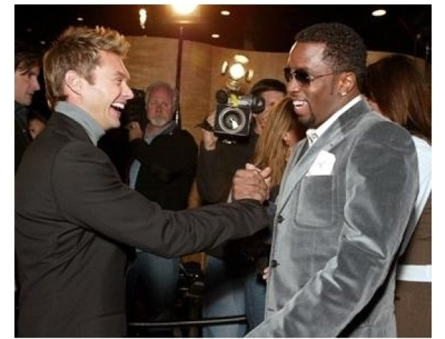 Divine Design 2004: Ryan Seacrest and Sean Combs