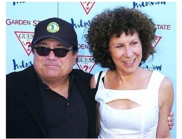 """Danny DeVito and Rhea Perlman at the """"Garden State"""" Premiere"""