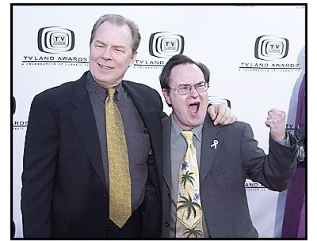 Michael McKean and David Lander at the 2004 TV Land Awards