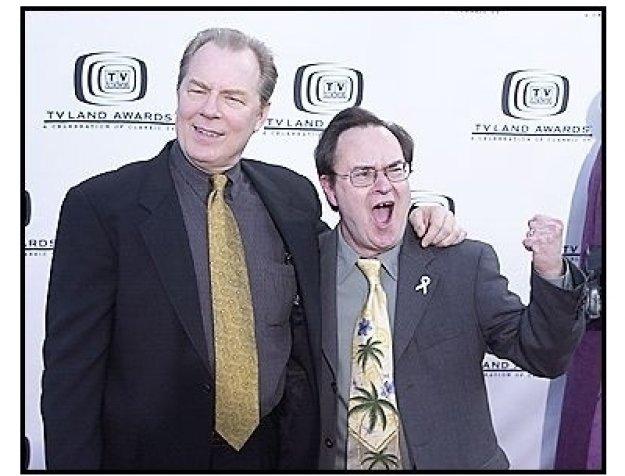 Michael McKean and David Lander at the 2004 TV Land Awards