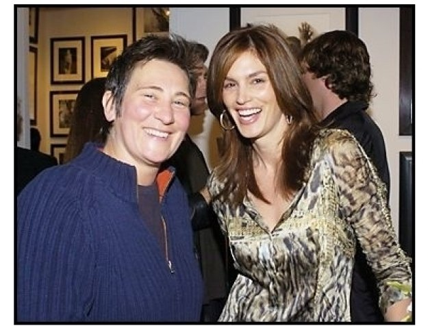 KD Lang & Cindy Crawford at Tanqueray No. TEN's preview of the Herb Ritts memorial collection/ONE TIME USE ONLY