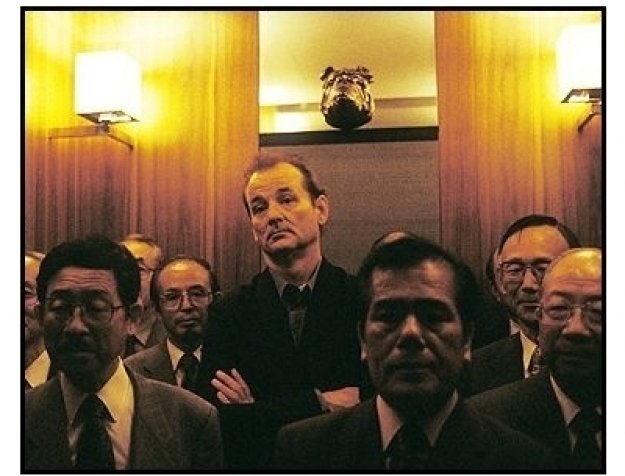 """Lost in Translation"" Movie Still: Bill Murray"