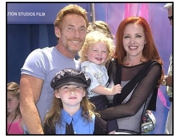 """Danny Bonaduce with wife Gretchen and family at the """"Finding Nemo"""" premiere"""