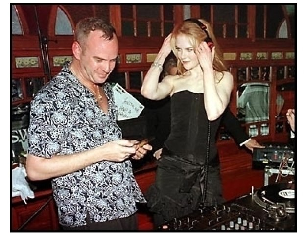 Fatboy Slim and Nicole Kidman at the Moulin Rouge After-Party