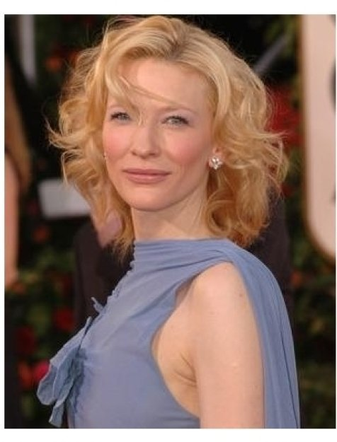 Cate Blanchett on the red carpet at the 62nd Golden Globe Awards
