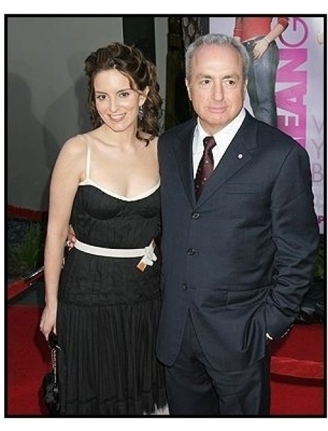 """Tina Fey and Lorne Michaels at the """"Mean Girls"""" Premiere"""