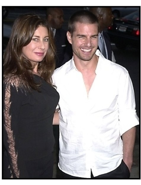 Paula Wagner and Tom Cruise at The Others premiere