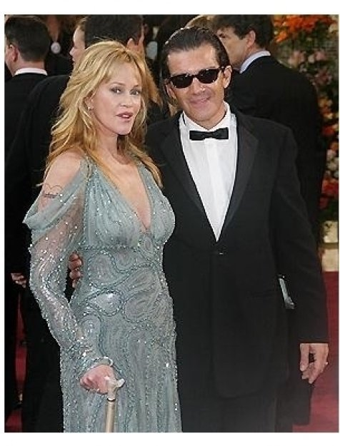 77th Annual Academy Awards RC: Melanie Griffith and Antonio Banderas