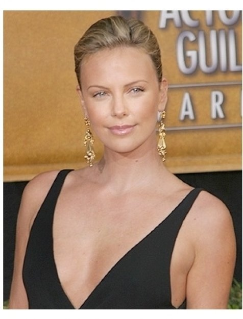 2006 SAG Awards Red Carpet: Charlize Theron