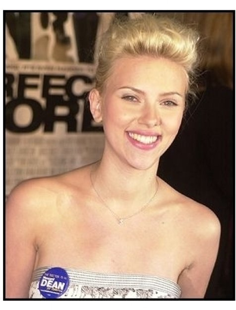 "Scarlett Johansson at ""The Perfect Score"" Premiere"