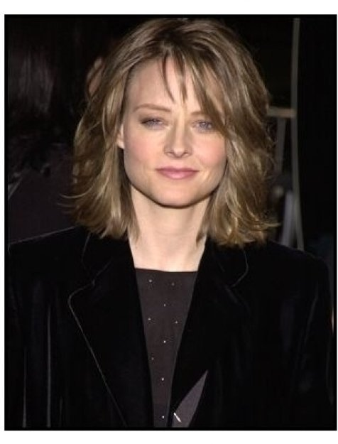 Jodie Foster at the Panic Room premiere