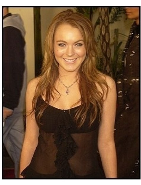 "Lindsay Lohan at ""The Perfect Score"" Premiere"
