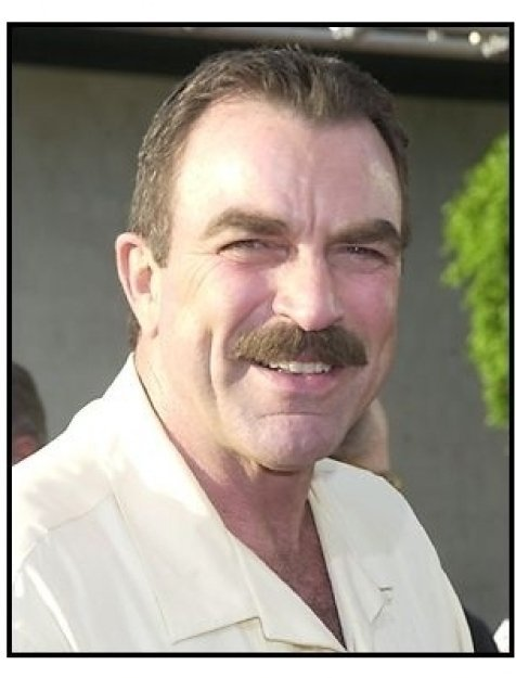 """Tom Selleck at the """"Open Range"""" premiere"""