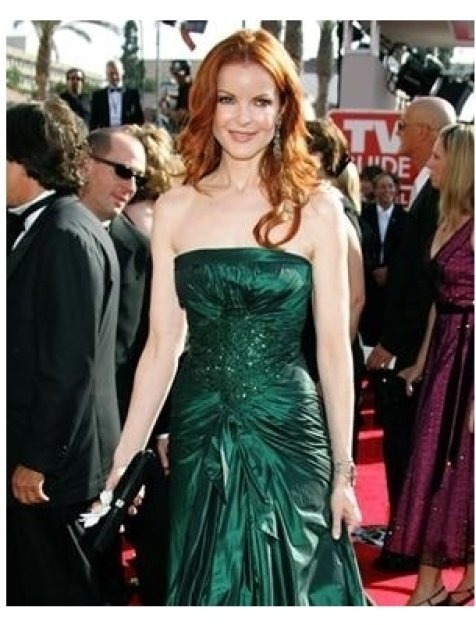 Marcia Cross on the red carpet at the 57th Annual Primetime Emmy Awards