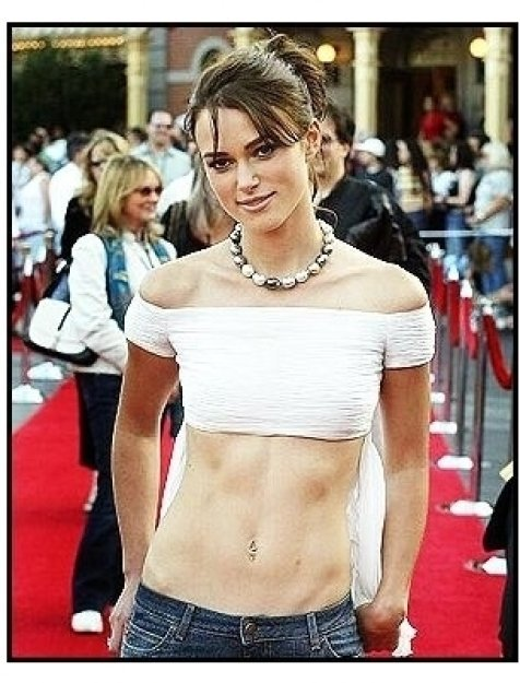 """ONE TIME USE ONLY: Keira Knightley  at the """"Pirates of the Caribbean: The Curse of the Black Pearl"""" World Premiere"""