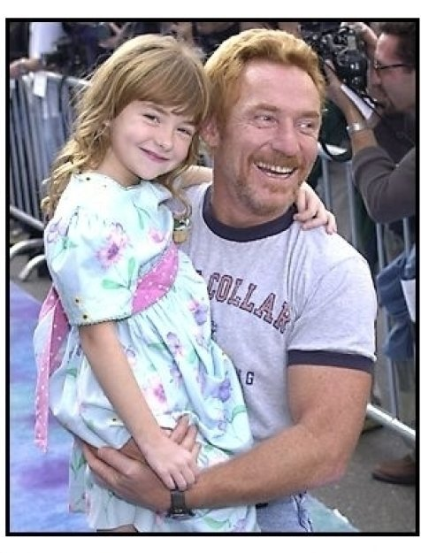Danny Bonaduce and daughter at the Monsters Inc premiere