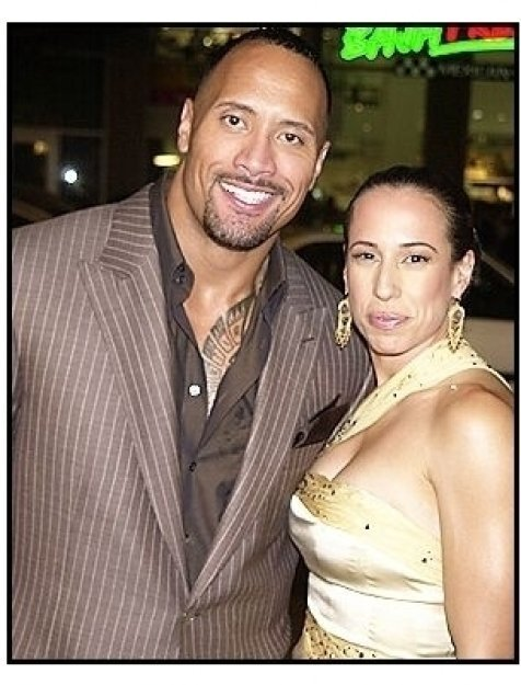 "Dwayne ""The Rock"" Johnson and wife Dany at the ""Walking Tall"" Premiere"