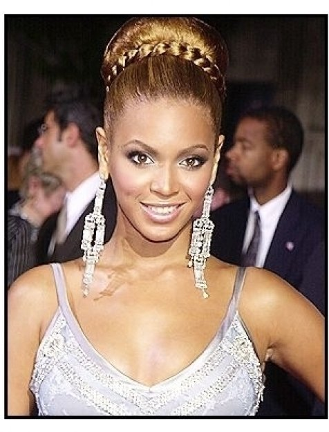 "Beyonce Knowles at ""The Fighting Temptations"" premiere"