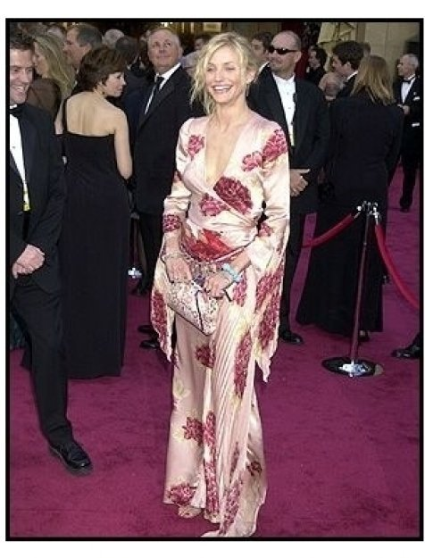 Cameron Diaz Looks: Cameron Diaz 2002 Oscars Fashion
