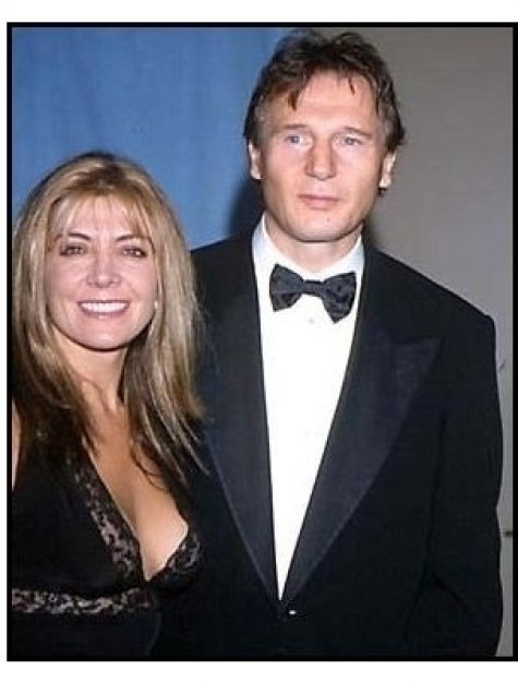 Natasha Richardson and Liam Neeson at the 2000 Carousel of Hope