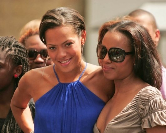 Keisha Whitaker and Kerry Washington