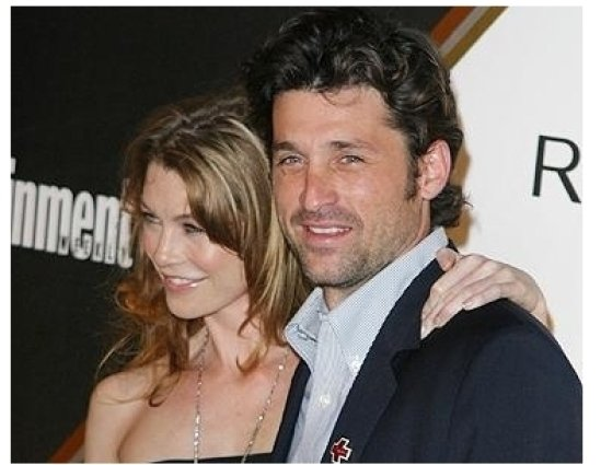 Entertainment Weekly Magazine 3rd Annual Pre-Emmy Party Photos:  Ellen Pompeo and Patrick Dempsey