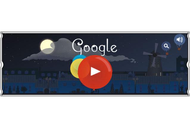Google Doodle Claude Debussy