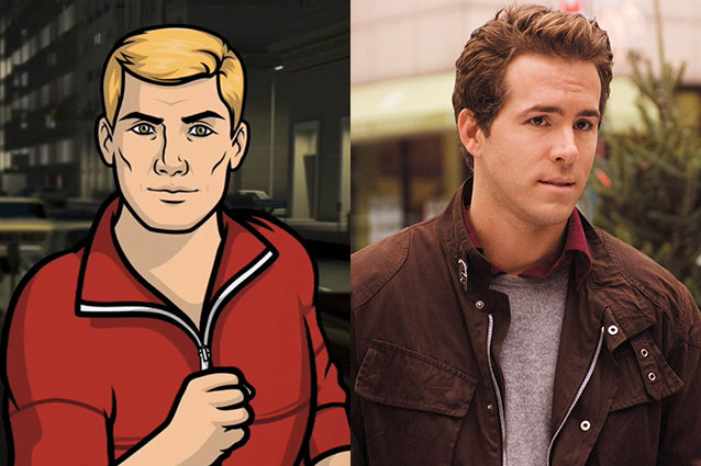Barry, Archer, Ryan Reynolds