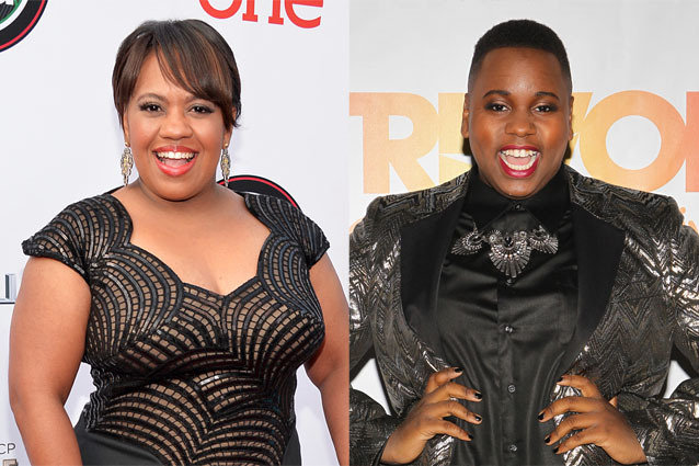 Chandra Wilson and Alex Newell