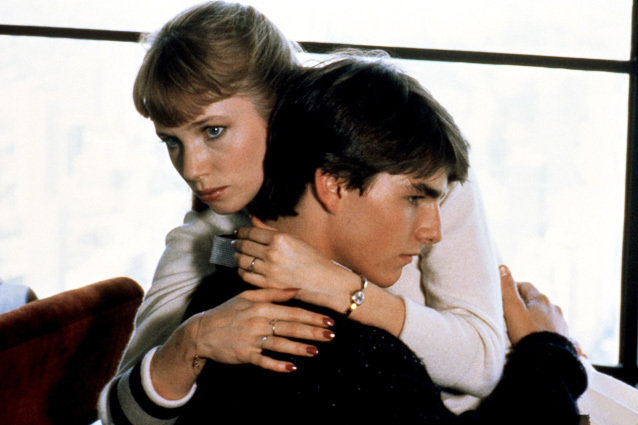 Risky Business, Rebecca De Mornay and Tom Cruise
