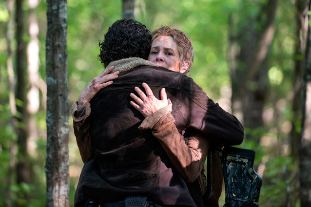 The Walking Dead, Andrew Lincoln, Melissa McBride