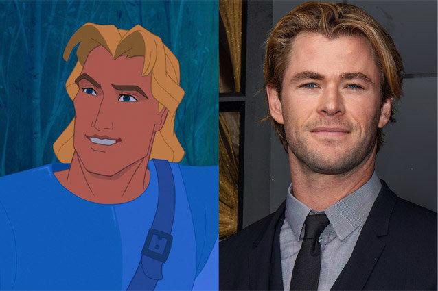 John Smith, Chris Hemsworth