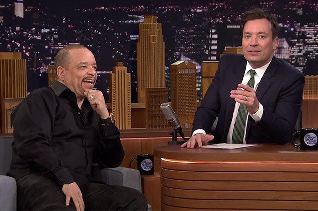 Jimmy Fallon, Ice T, The Tonight Show Starring Jimmy Fallon