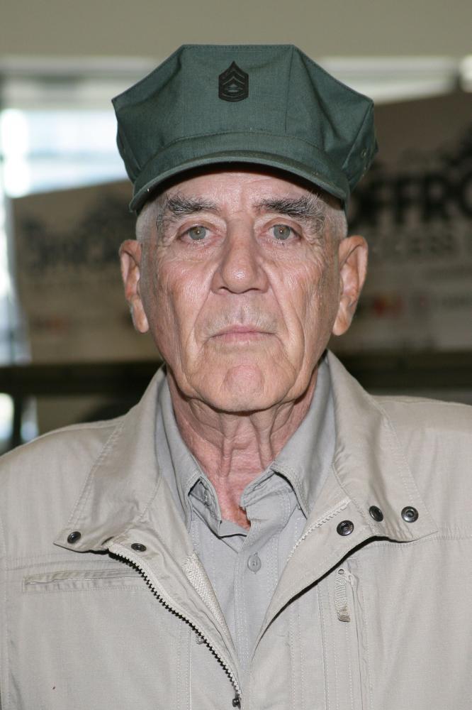 Gunnery Sergeant R Lee Ermey